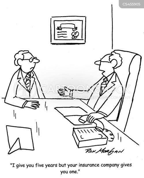 terminal diseases cartoon