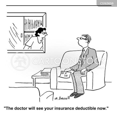 health bills cartoon