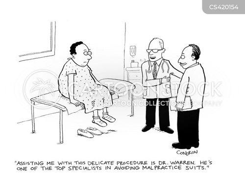 medical lawsuit cartoon