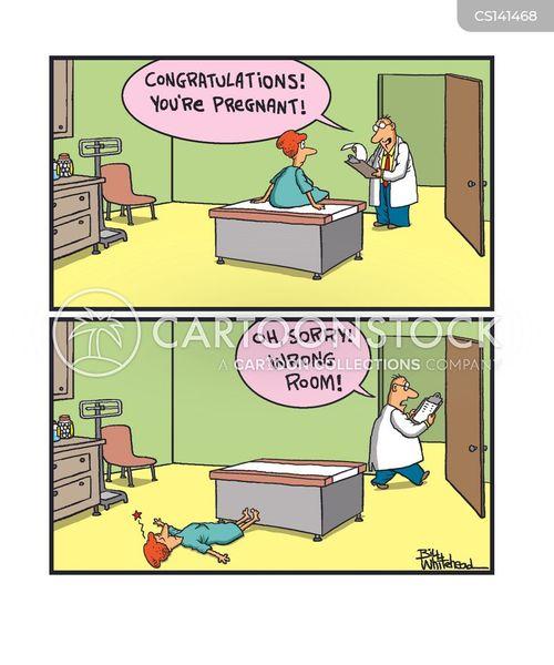 faints cartoon