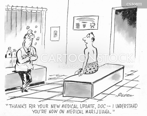 medical updates cartoon