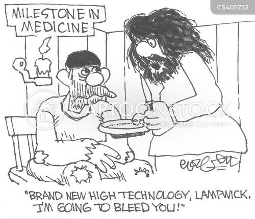 medical historian cartoon