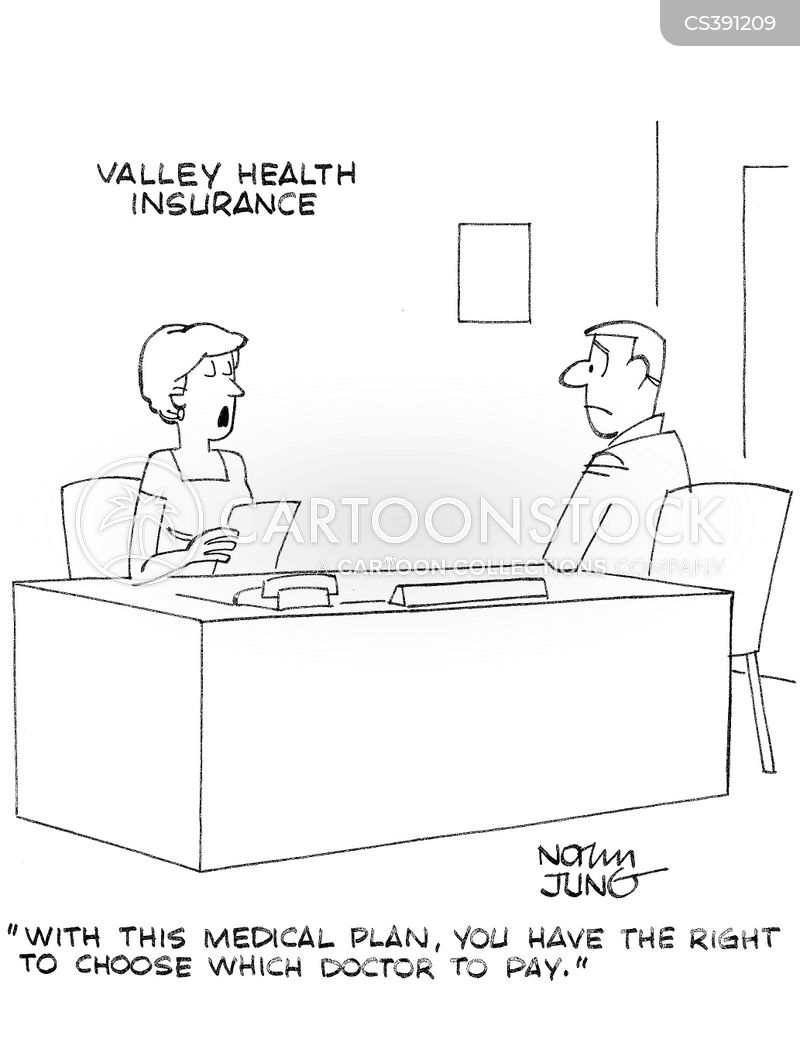 medical plans cartoon