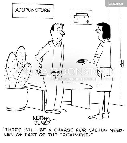 cactus needles cartoon
