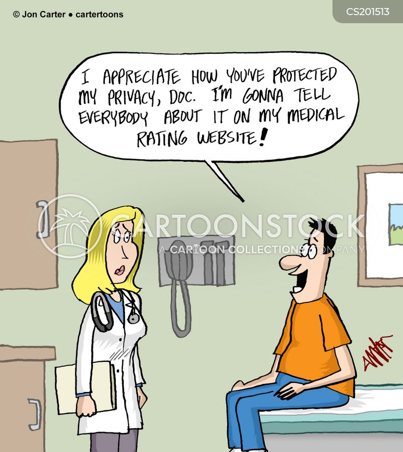 hipaa cartoon