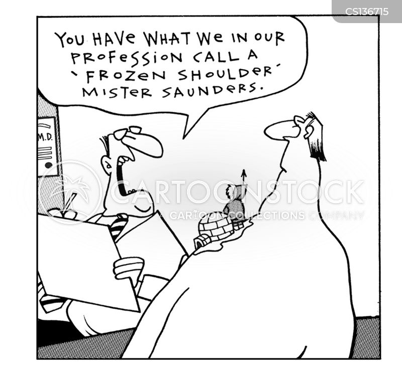shoulder cartoon