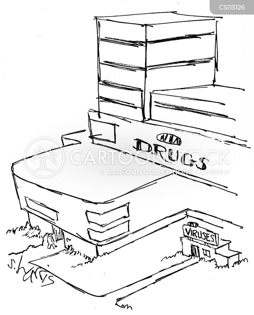 medical researcher cartoon