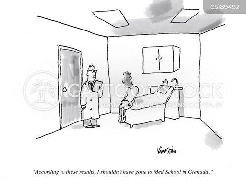 medical degree cartoon