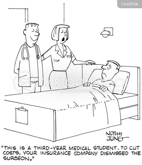 medical budget cartoon