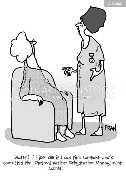 medical training cartoon