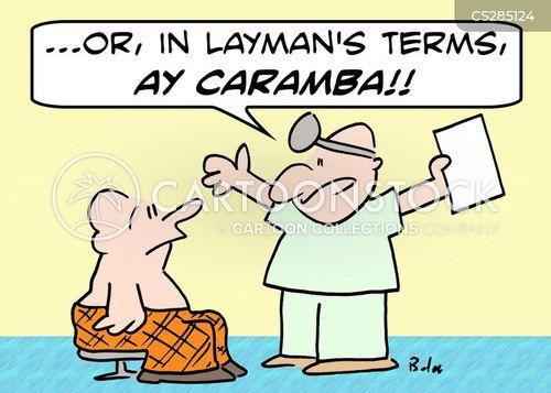 ay caramba cartoon