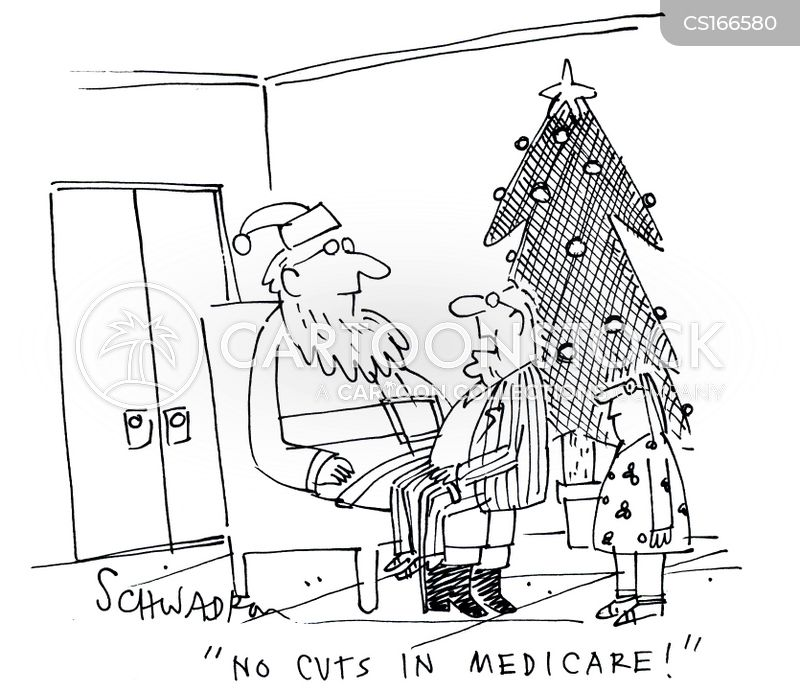 Image result for cartoon medicare cuts
