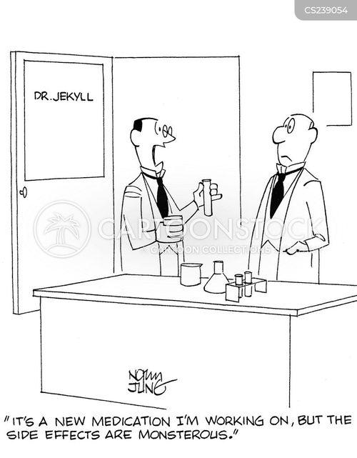 dr jekyll cartoon
