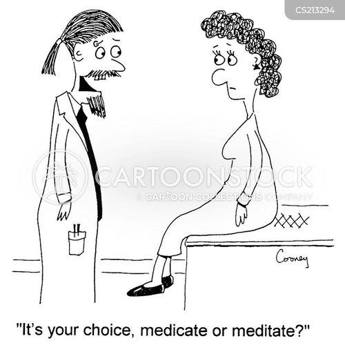 alternative therapies cartoon