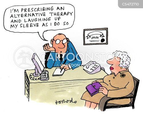 quackery cartoon
