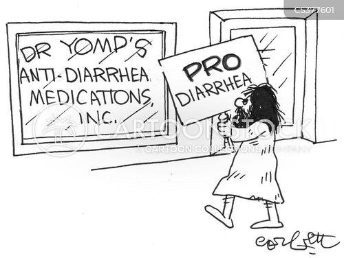 diarrohea cartoon