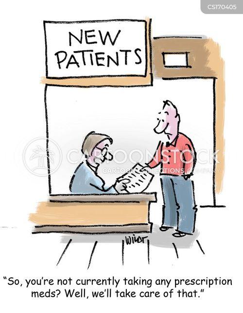 prescribed cartoon