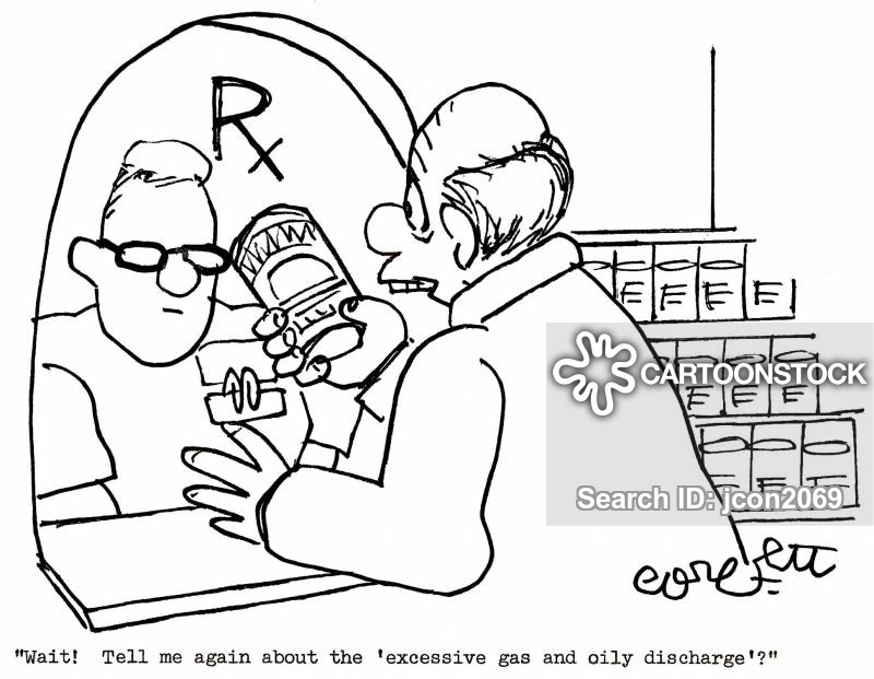 discharge cartoon
