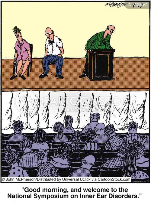 symposium cartoon