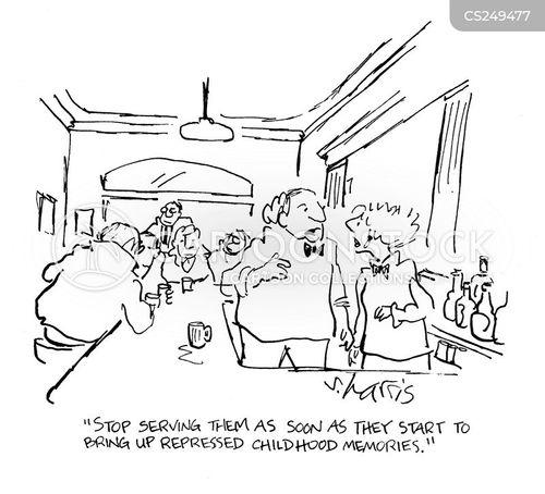 represses cartoon