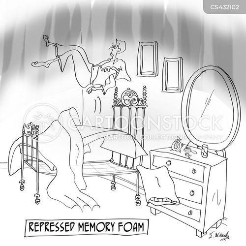 repressed memory cartoon