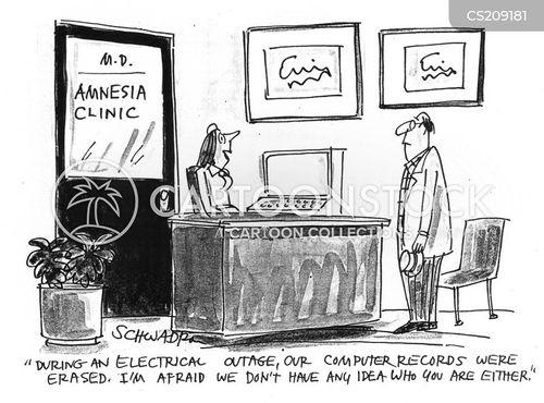 amnesiac cartoon