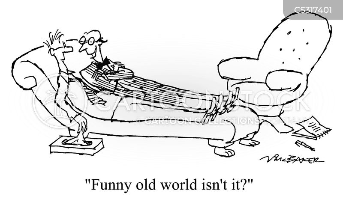 old world cartoon