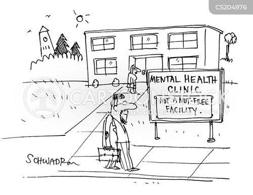 mental institutions cartoon