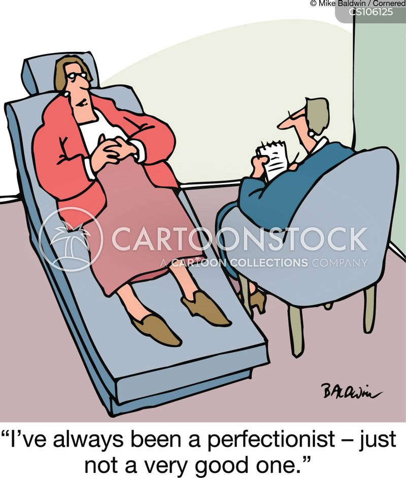 perfectionist cartoon