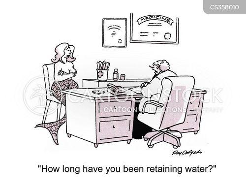 retain cartoon