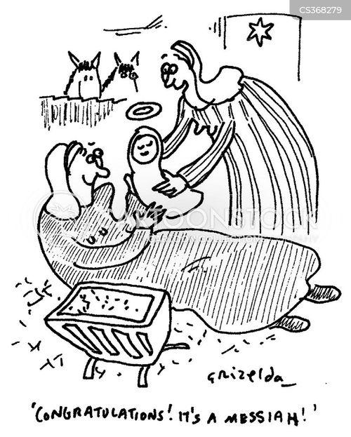 messiah cartoon