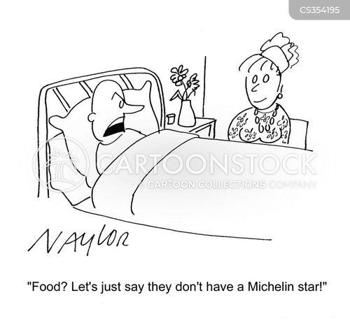 eating foods cartoon