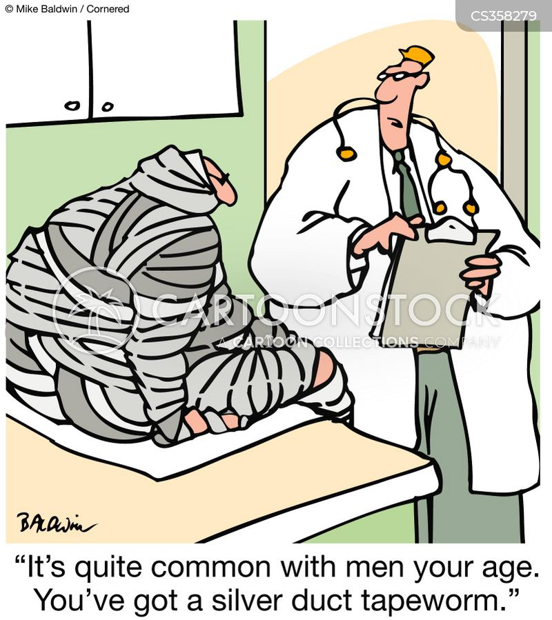 tapeworms cartoon