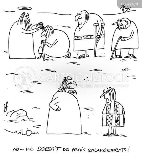 healed cartoon