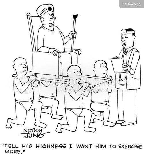 physical activity cartoon