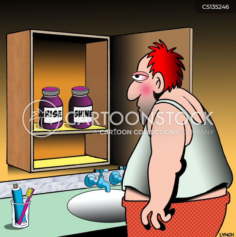 medicine cabinets cartoon