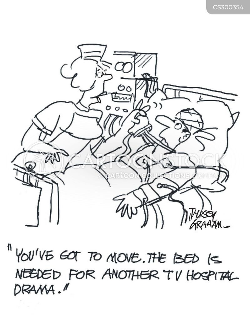 hospital drama cartoon