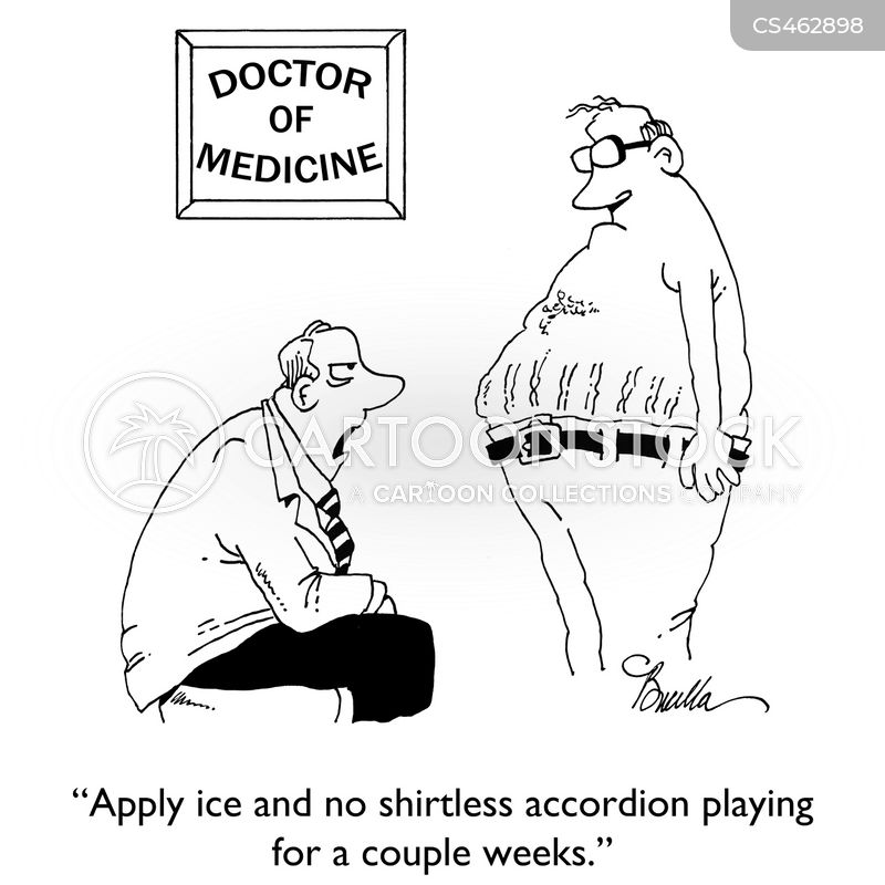 accordians cartoon