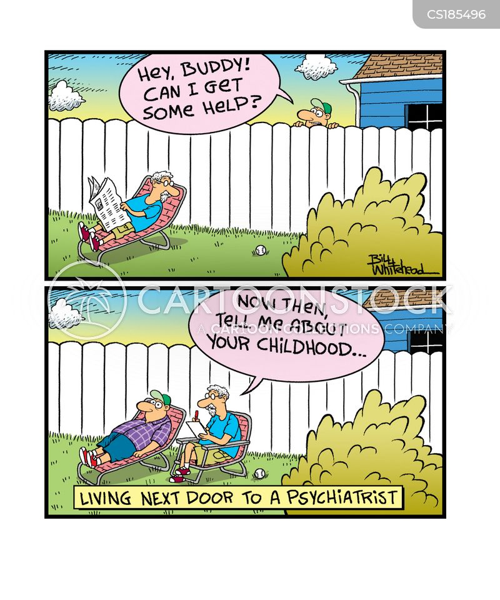 neighbourly cartoon