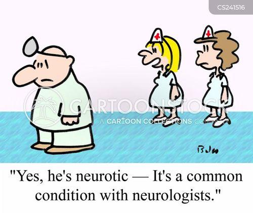 nervous system cartoon