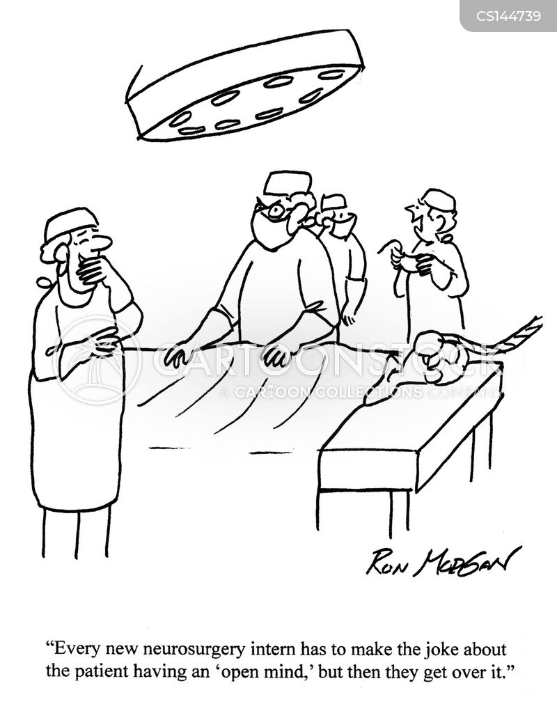 neurosurgery cartoon