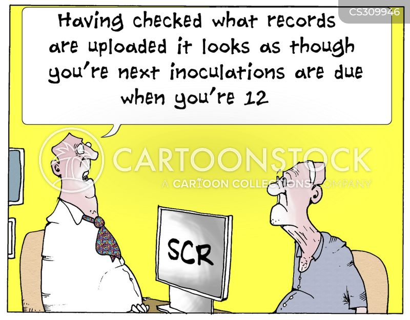 summary care records cartoon