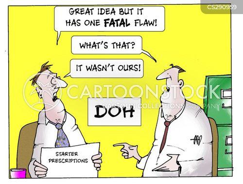starter prescriptions cartoon