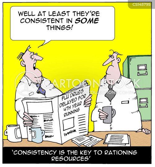shortages cartoon