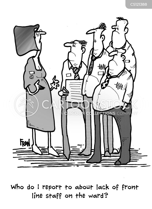 front line cartoon