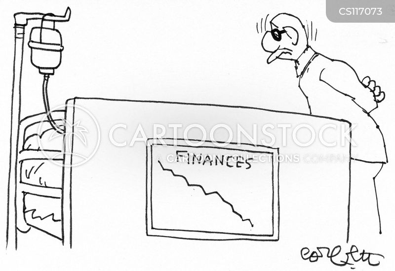 Image result for hospital finances cartoon