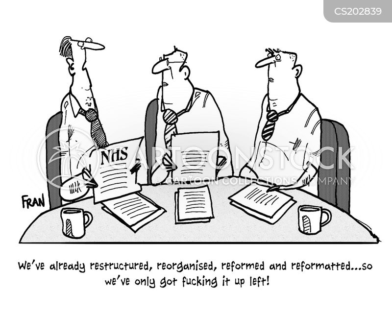 nhs reform cartoon