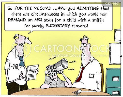 mri scan cartoon
