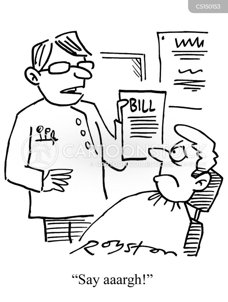 dental bills cartoon