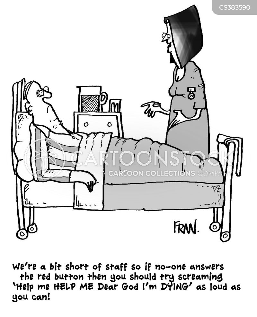 short-staffed cartoon